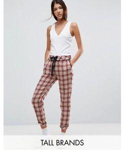 Vero Moda Tall | Пижамные Штаны В Клетку