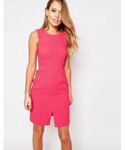 Closet London | Платье Миди С Разрезом Спереди И Завязкой Сзади Closet