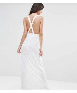ASOS PETITE | Трикотажное Пляжное Платье Макси