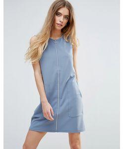 First & I | Трикотажное Платье На Молнии