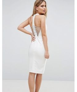 Rare | Платье-Футляр Со Шнуровкой На Спине London