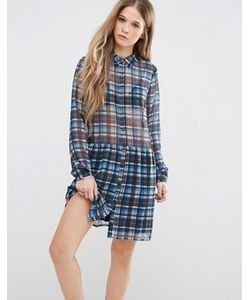Pepe Jeans | Платье В Клетку Claire