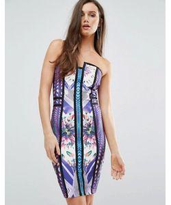 WOW Couture | Бандажное Платье-Бандо