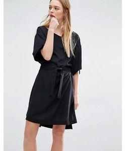 Weekday   Платье В Стиле Кимоно С Запахом