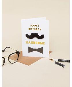 Meri Meri | Открытка Ко Дню Рождения С Надписью Happy Birthday Handsome