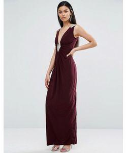 TFNC | Платье Макси Со Сборками