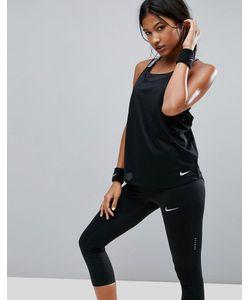 Nike | Черная Майка Elastika