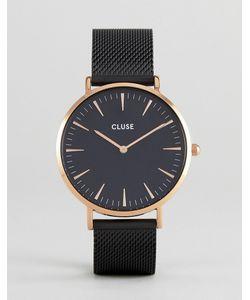 Cluse | Черные Часы С Сетчатым Ремешком Cl18034 La Bohème