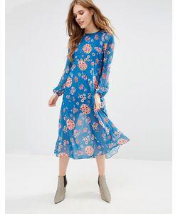 Traffic People | Платье С Цветочным Принтом Minnie Mia