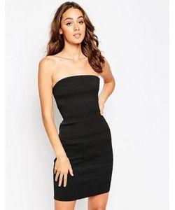 Sistaglam | Облегающее Платье-Бандо Kim
