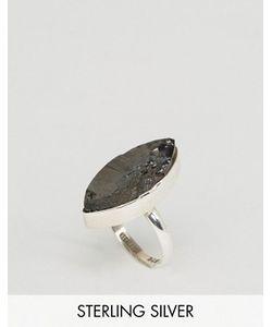 Regal Rose   Серебряное Кольцо С Неграненым Камнем