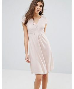 Jasmine | Трикотажное Платье С V-Образным Вырезом