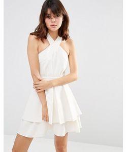 J.O.A | Плиссированное Платье Мини