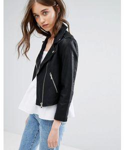 Miss Selfridge | Укороченная Куртка Из Искусственной Кожи