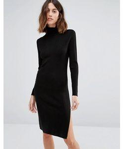 Vero Moda | Платье С Отворачивающимся Воротником И Длинными Рукавами