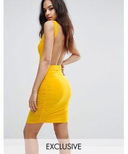 Club L | Платье Мини С Открытой Спиной