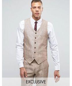 Heart & Dagger | Skinny Waistcoats In Linen