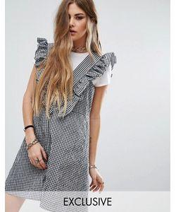 Reclaimed Vintage | Платье В Клеточку С Рюшами