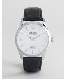 BOSS | Часы С Черным Кожаным Ремешком By Hugo 1513449 Commander