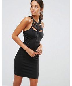 Love & Other Things | Облегающее Платье С Решеткой Из Лямок