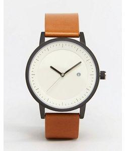 Simple Watch Company | Часы С Коричневым Кожаным Ремешком Swco Earl