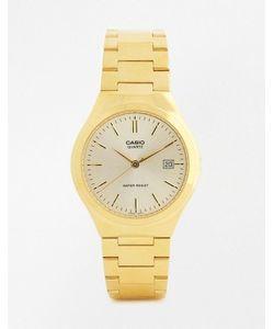 Casio | Золотистые Часы С Ремешком Из Нержавеющей Стали Mtp1170n-9a