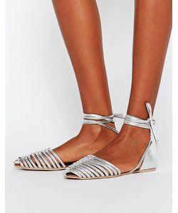 Asos | Кожаные Туфли С Завязками Jola