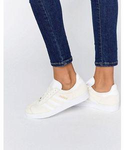 Adidas | Светло-Бежевые Замшевые Кроссовки Originals Gazelle