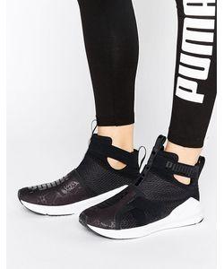 Puma | Черные Кроссовки Fierce