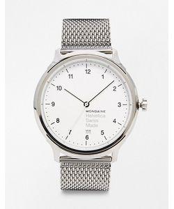 Mondaine | Часы С Сетчатым Браслетом Helvetica