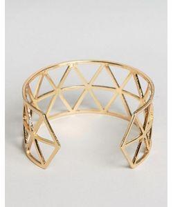 NYLON | Браслет-Манжета С Геометрическим Дизайном