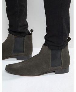 Asos   Замшевые Ботинки Chelsea