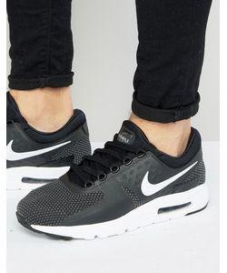 Nike | Черные Кроссовки Air Max Zero 876070-004