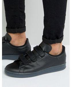 adidas Originals | Черные Кроссовки Stan Smith