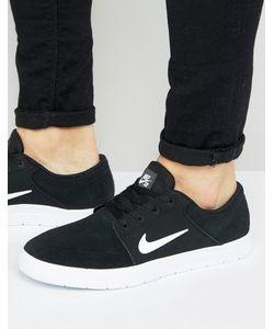 Nike SB | Черные Кроссовки Portmore Vapor 855973-010