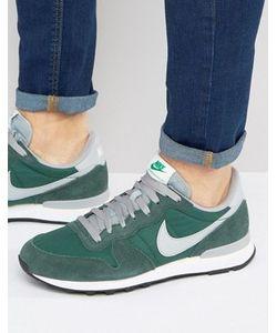 Nike | Зеленые Кроссовки Internationalist 828041-300