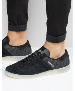 adidas Originals | Черные Кроссовки Hamburg Tech S79993
