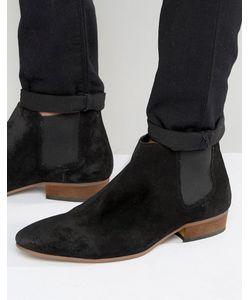 Kg Kurt Geiger | Черные Замшевые Ботинки Челси Kg By Kurt Geiger