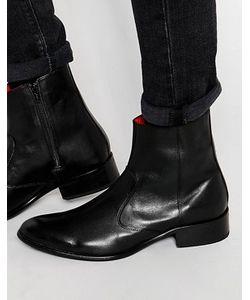Base London | Кожаные Ботинки На Молнии Lancelot