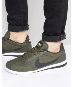 Nike | Зеленые Кроссовки Cortez Ultra 833142-300