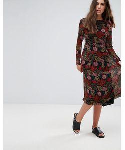Pepe Jeans London | Платье С Цветочным Принтом Peggy