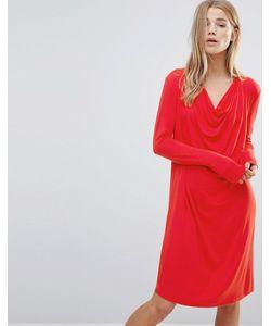 Ganni | Цельнокройное Платье Со Свободным Воротом