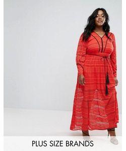 Elvi | Кружевное Платье Макси