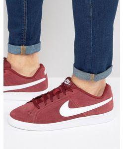 Nike | Замшевые Кроссовки Court Royale 819802-600