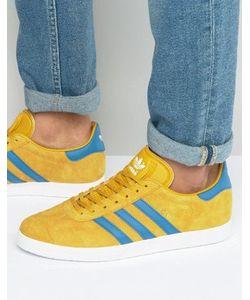 adidas Originals | Желтые Кроссовки Gazelle Bb5258