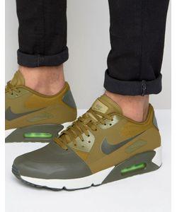 Nike | Зеленые Кроссовки Air Max 90 Ultra 876005-300