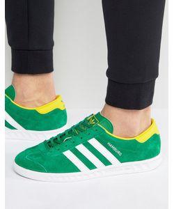 adidas Originals | Зеленые Кроссовки Hamburg Bb5299