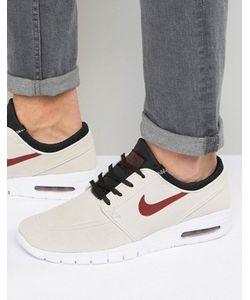 Nike SB | Бежевые Кроссовки Stefan Janoski Max L 685299-060