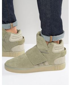 adidas Originals | Зеленые Кроссовки Tubular Invader Str Bb8391