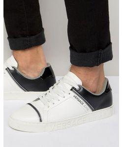 Versace | Кроссовки С Молниями Jeans